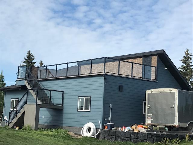 Rycroft Garage and Deck Addition